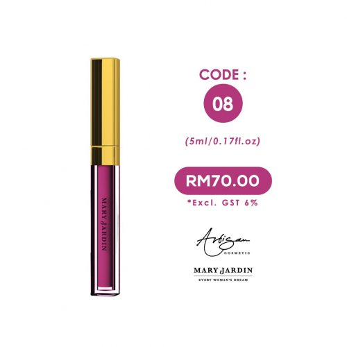 LIP MATTE Code 08 2 LM Exclude GST 8 | Mary Jardin