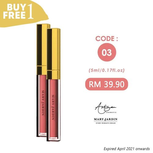 LIP MATTE Code 03 [Buy 1 Free 1] 2 WhatsApp Image 2020 06 24 at 10.08.25 PM1 | Mary Jardin