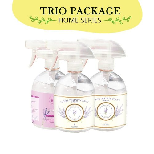 [COMBO PACK] Home Disinfectant Spray 500ml [2 PCS] +Alcohol Sanitizer 500ml [1PC] 2 2d1s | Mary Jardin