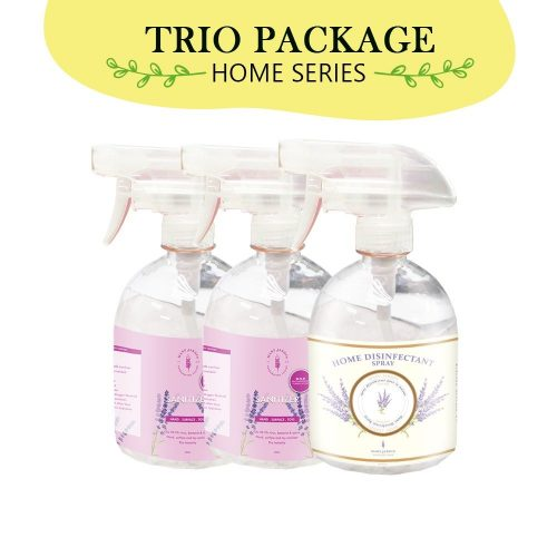 [COMBO PACK] Home Disinfectant Spray 500ml [1 PC] +Alcohol Sanitizer 500ml [2 PCS] 2 2s1d | Mary Jardin