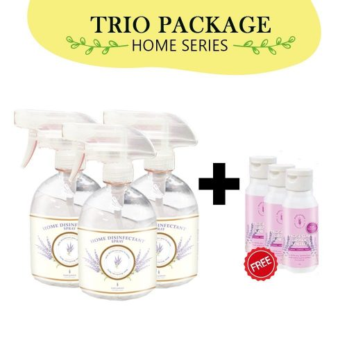 [TRIO PACK] Country Suds Home Disinfectant Spray 500ml + FREEGIFT 2 3d   Mary Jardin