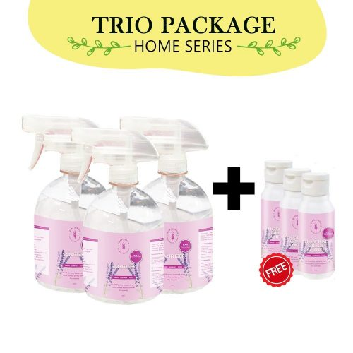 [TRIO PACK] Alcohol Sanitizer 500ml + FREEGIFT 2 3s | Mary Jardin