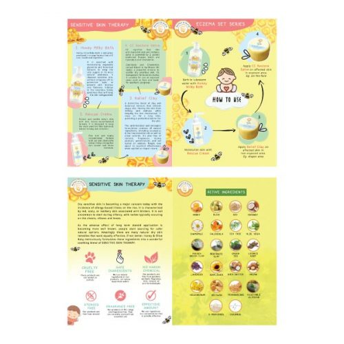 Honey & Olive Baby Flyers (50 PCS) 2 flyers Product | Mary Jardin